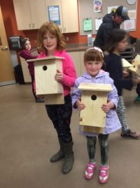Young Naturalists birdhouse workshop